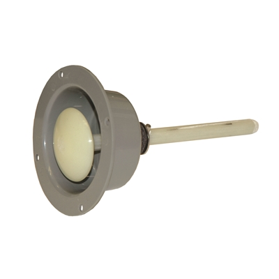 "Safety Release - Recessed Mount - For 6"" door thickness - Die Pat"