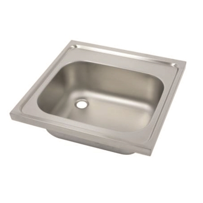Hospital Pattern Sink Top - Single Bowl  - SK1 - Die Pat