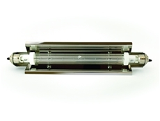 Infrared Heat Lamp Assembly - Jacketed long push - 300 watt - Low pressure