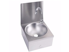 Wash Hand Basins - Knee Operated - 300 x 315 - Compact Range