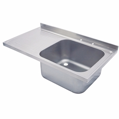 Sink Top 1200 x 650 single bowl, single LH drainer