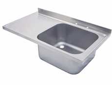 Sink Top - 1500 x 650 single bowl, single LH drainer