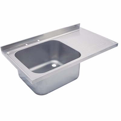 Sink Top - 1500 x 650 single bowl, single RH drainer