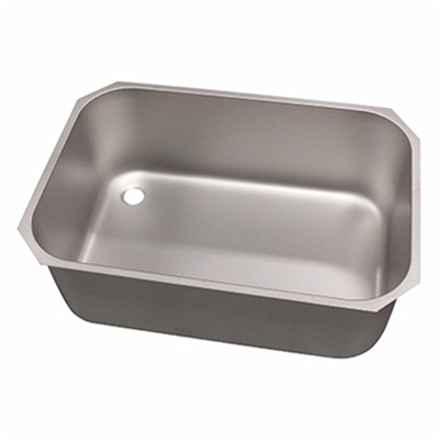 Pot wash sink bowl - Left hand - 760 x 510 x 300mm - Die Pat