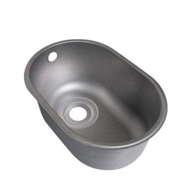 Weld In Sink Bowls - Descaled - Oval Half Bowl - Die Pat