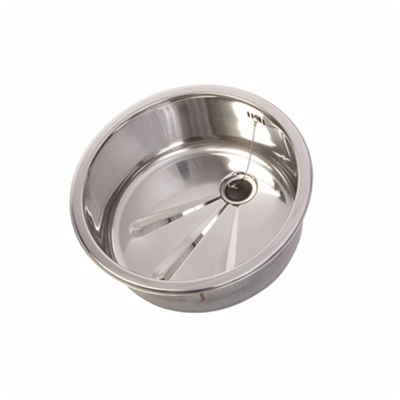 Round - Inset Bowl Kit - Polished - 380mm dia x 170mm deep - Die Pat