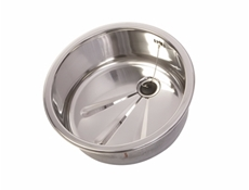 Round - Inset Bowl Kit - Polished - 420mm dia x 170mm deep