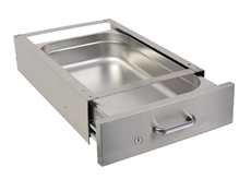 Lockable Undertable Drawer - 1/1 x 150mm - D-shaped handle