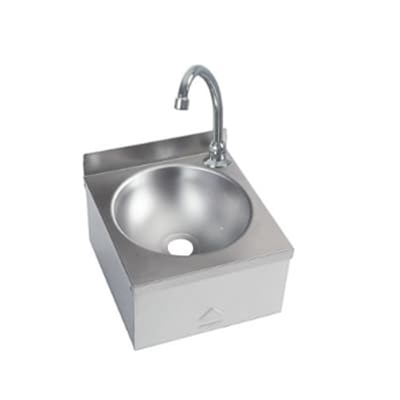 Knee Operated Basin - Compact Range - 300 x 315 no splashback - WRAS Approved