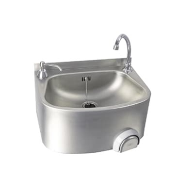 Knee Operated Wash Basin 480 x 350 x 263