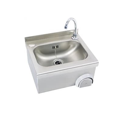 Knee Operated Wash Basin 400 x 342 x 230
