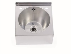Wash Hand Basin 340 x 345 x 160 - Polished Finish