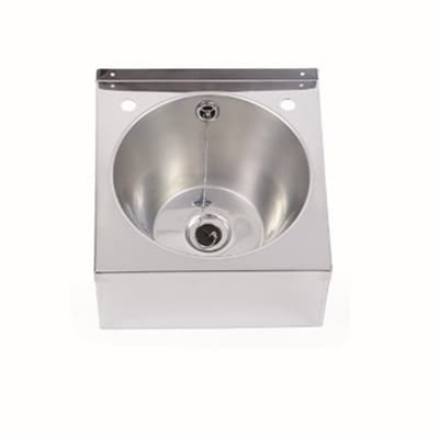 Wash Hand Basin 340 x 345 x 160 - Polished Finish - Die Pat