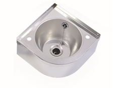 Corner Wash Hand Basin 300 x 300 x 150 - Polished Finish