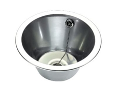 Wash Hand Basin - Inset - 290 dia x 160 c/w studs for insetting