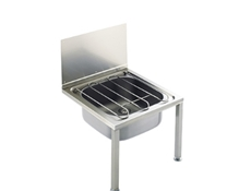 Floor Standing Bucket Sink - Stainless Steel