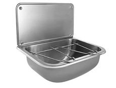 Wall Mounted Bucket Sink - Stainless Steel