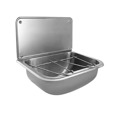 Wall Mounted Bucket Sink - Stainless Steel - Die Pat
