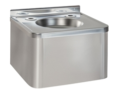 Drinking Fountain c/w 1 Tap Hole - Stainless Steel