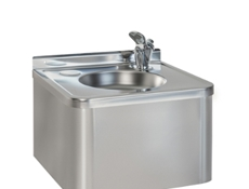Drinking Fountain c/w Water Bubbler - Stainless Steel